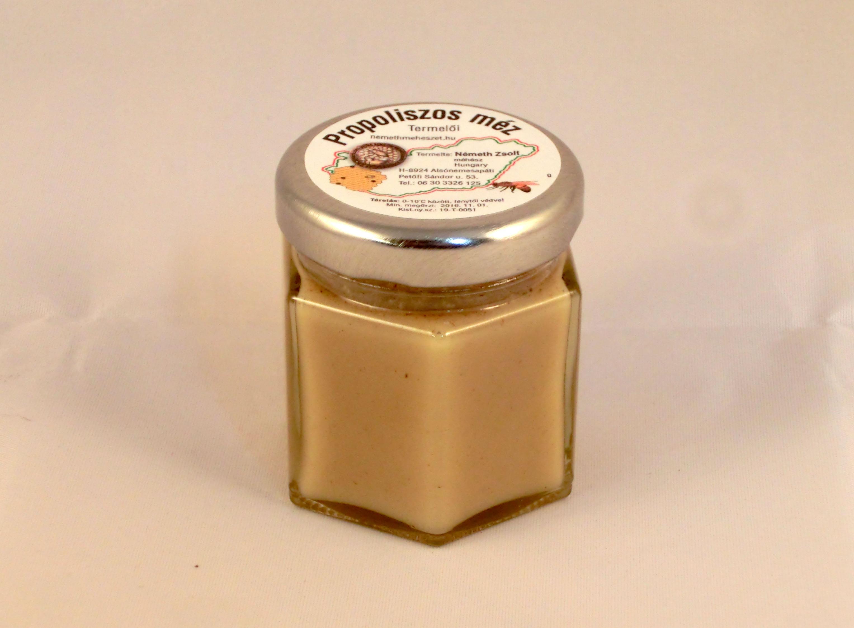 propolis és méz prosztatitis)